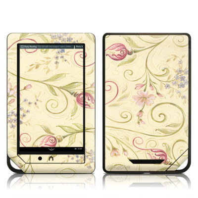 Barnes and Noble NOOK Tablet Skin - Tulip Scroll