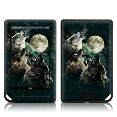 Barnes and Noble NOOK Tablet Skin - Three Wolf Moon