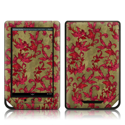 Barnes and Noble NOOK Tablet Skin - Vintage Scarlet