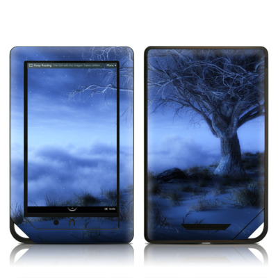 Barnes and Noble NOOK Tablet Skin - World's Edge Winter