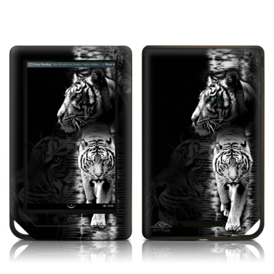 Barnes and Noble NOOK Tablet Skin - White Tiger