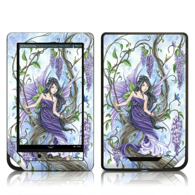 Barnes and Noble NOOK Tablet Skin - Wisteria