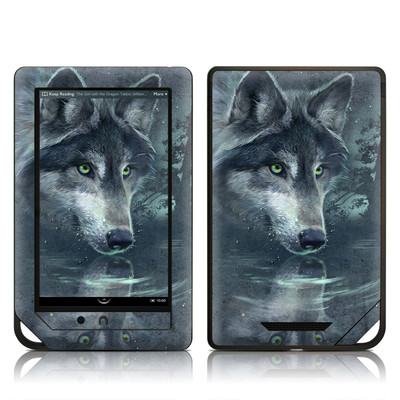 Barnes and Noble NOOK Tablet Skin - Wolf Reflection