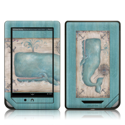 Barnes and Noble NOOK Tablet Skin - Whale Watch