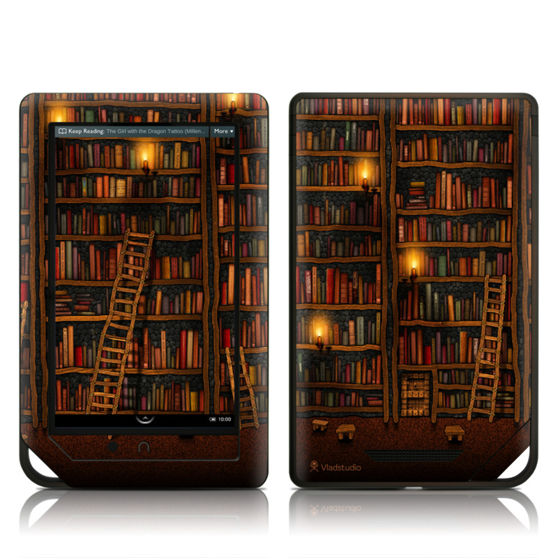 Barnes and Noble NOOK Tablet Skin - Library by Vlad Studio | DecalGirl