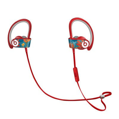 Beats Powerbeats2 Skin - Sunbaked Blooms