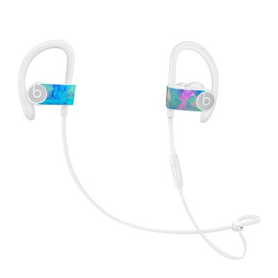 Beats Powerbeats3 Skin - Electrify Ice Blue