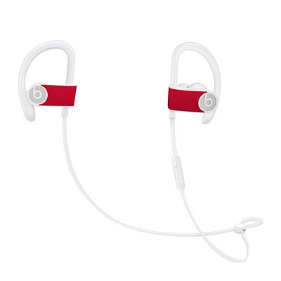 Beats Powerbeats3 Skin - Solid State Red