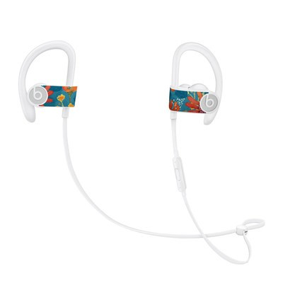 Beats Powerbeats3 Skin - Sunbaked Blooms