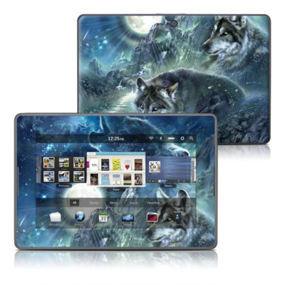 BlackBerry PlayBook Skin - Bark At The Moon
