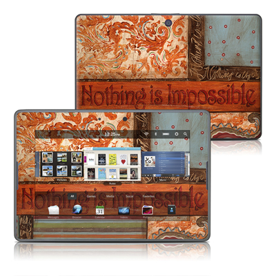BlackBerry PlayBook Skin - Be Inspired
