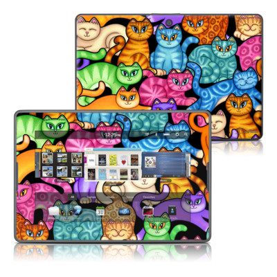 BlackBerry PlayBook Skin - Colorful Kittens
