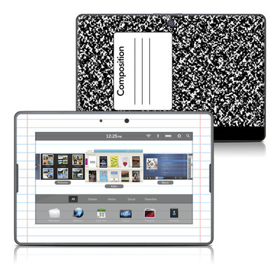 BlackBerry PlayBook Skin - Composition Notebook
