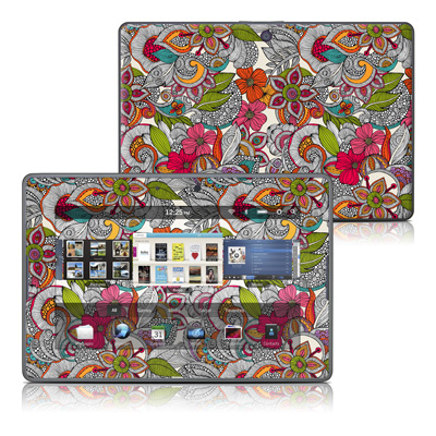 BlackBerry PlayBook Skin - Doodles Color