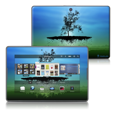 BlackBerry PlayBook Skin - Flying Tree Blue