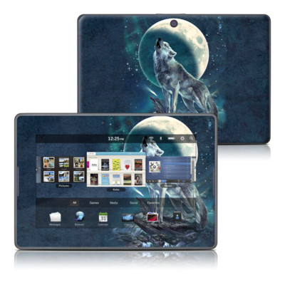 BlackBerry PlayBook Skin - Howling Moon Soloist