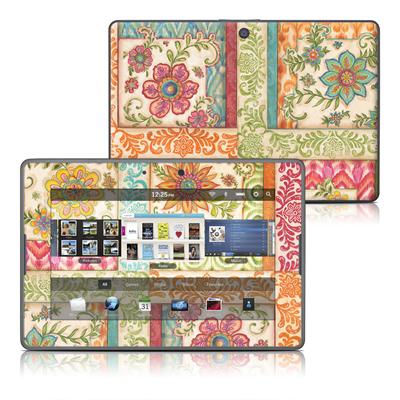 BlackBerry PlayBook Skin - Ikat Floral