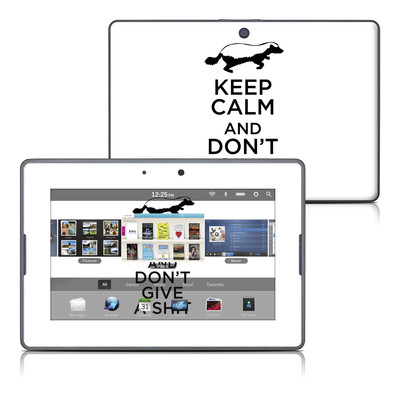 BlackBerry PlayBook Skin - Keep Calm - HB