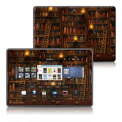 BlackBerry PlayBook Skin - Library