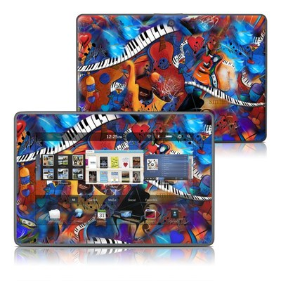 BlackBerry PlayBook Skin - Music Madness