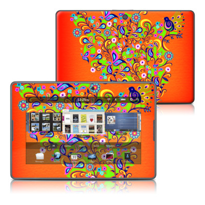 BlackBerry PlayBook Skin - Orange Squirt