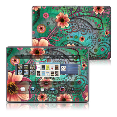 BlackBerry PlayBook Skin - Paisley Paradise