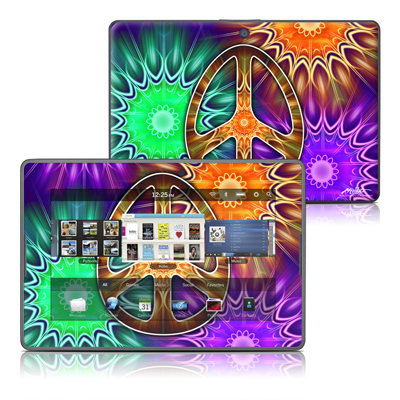 BlackBerry PlayBook Skin - Peace Triptik