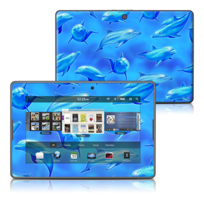 BlackBerry PlayBook Skin - Swimming Dolphins