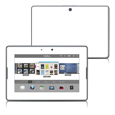 BlackBerry PlayBook Skin - Solid State White