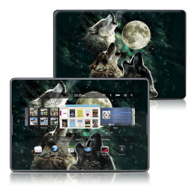 BlackBerry PlayBook Skin - Three Wolf Moon