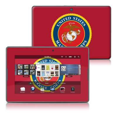 BlackBerry PlayBook Skin - USMC Red