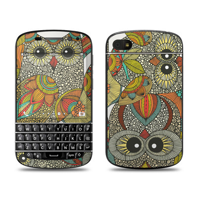 BlackBerry Q10 Skin - 4 owls