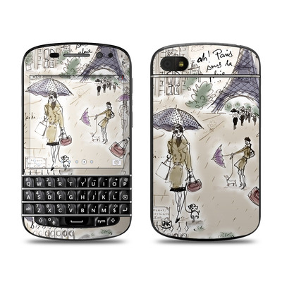 BlackBerry Q10 Skin - Ah Paris