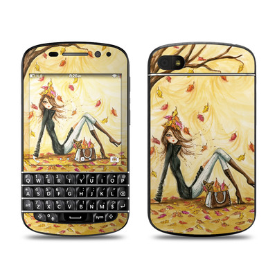 BlackBerry Q10 Skin - Autumn Leaves