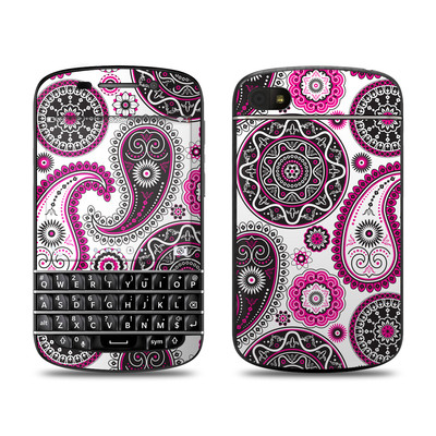 BlackBerry Q10 Skin - Boho Girl Paisley