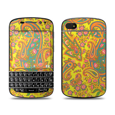 BlackBerry Q10 Skin - Bombay Chartreuse