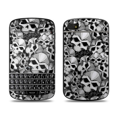 BlackBerry Q10 Skin - Bones