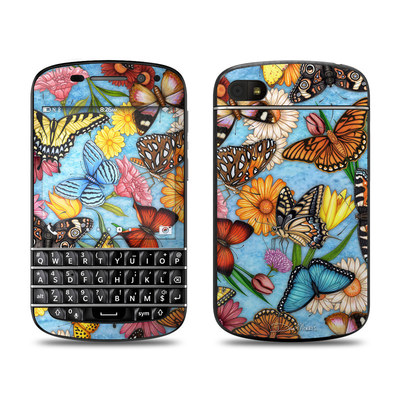 BlackBerry Q10 Skin - Butterfly Land