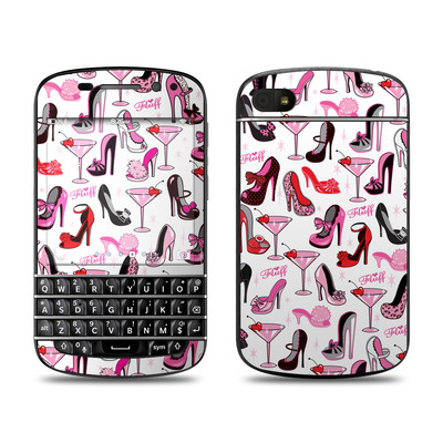BlackBerry Q10 Skin - Burly Q Shoes