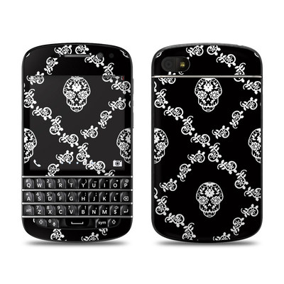 BlackBerry Q10 Skin - Calavera Lattice