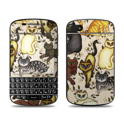 BlackBerry Q10 Skin - Cats