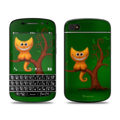 BlackBerry Q10 Skin - Cheshire Kitten