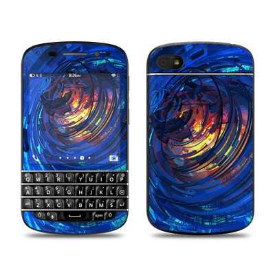 BlackBerry Q10 Skin - Clockwork