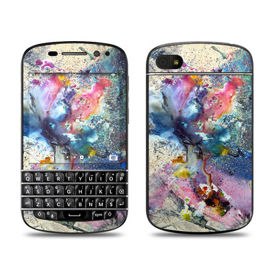 BlackBerry Q10 Skin - Cosmic Flower