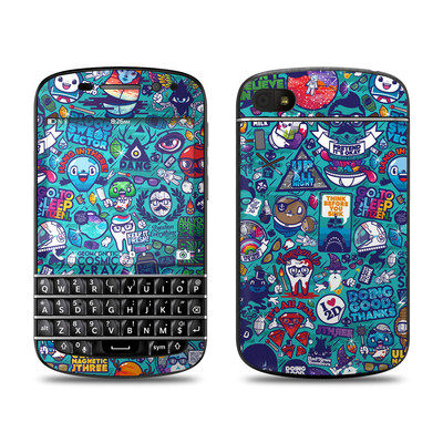 BlackBerry Q10 Skin - Cosmic Ray