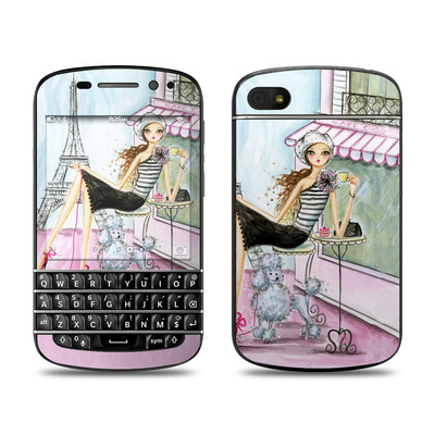 BlackBerry Q10 Skin - Cafe Paris