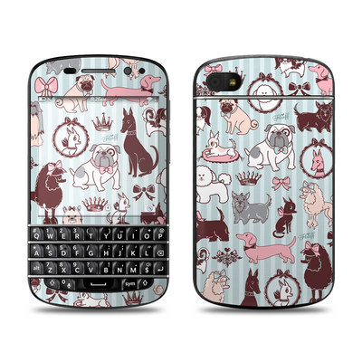 BlackBerry Q10 Skin - Doggy Boudoir