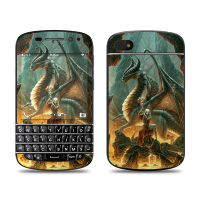BlackBerry Q10 Skin - Dragon Mage