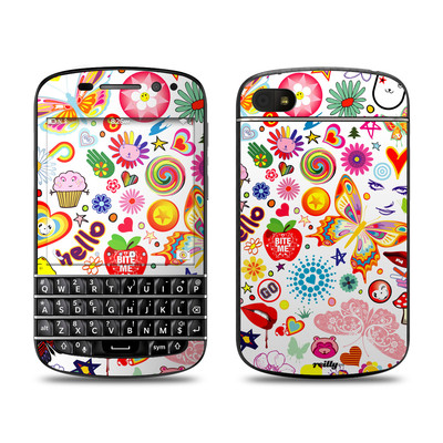 BlackBerry Q10 Skin - Eye Candy