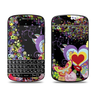 BlackBerry Q10 Skin - Flower Cloud